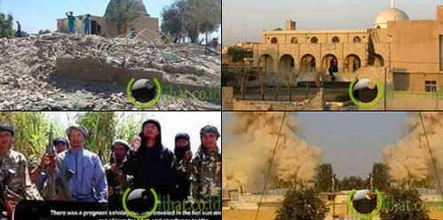 7 Situs Suci Umat Islam yang Dihancurkan ISIS