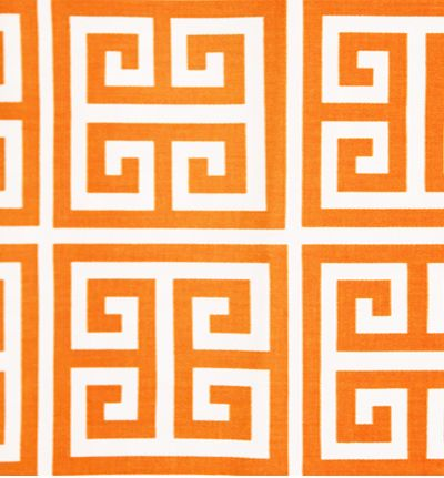 Tonic Living,Greek Key, Citrus,100% 10 oz cotton twill,Retro futon covers, retro fabric and pillows