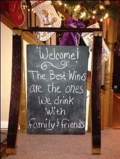 The Best Wines Are The Ones We Drink With Family And Friends Wine Themed Partieswine
