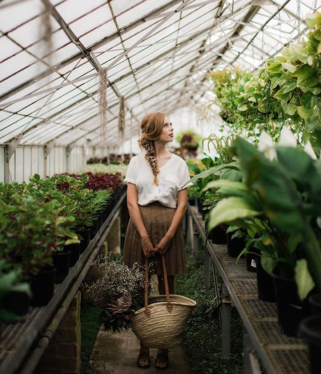 Beautiful greenhouse shoot featuring some LGV dresses. Check out the talented ladies below who made this magic  Photos: @juliaarchibaldphotographer  Stylist: @mariele HMU: @josiehanuska