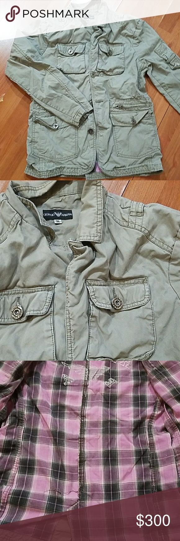 Giorgio Armani Military Jacket Heavy Jacket, no visible stains, See Pictures Giorgio Armani Jackets & Coats Military & Field