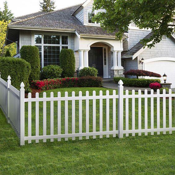 1000 Ideas About Types Of Fences On Pinterest White