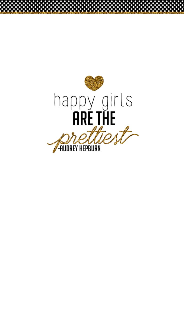FREE adorable phone wallpapers! Black and gold glitter. Iconic female quotes by Marilyn Monroe, Coco Chanel & Audrey Hepburn. Super girly & FREE.
