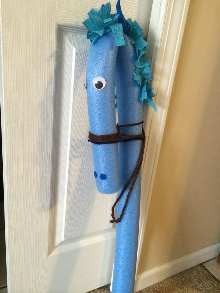 Pool noodle stick horse | My creations | Pool noodles ...