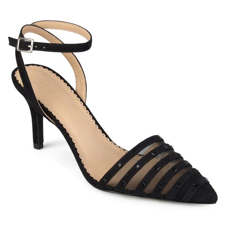 Journee Collection Meera Women's High Heels, Size: medium (7.5), Black