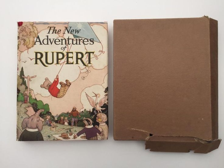 Rare 1936 New Adventures of Rupert book with luvjoysantiques on eBay