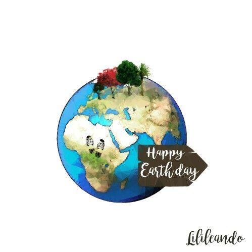 Earth day by Lilileando