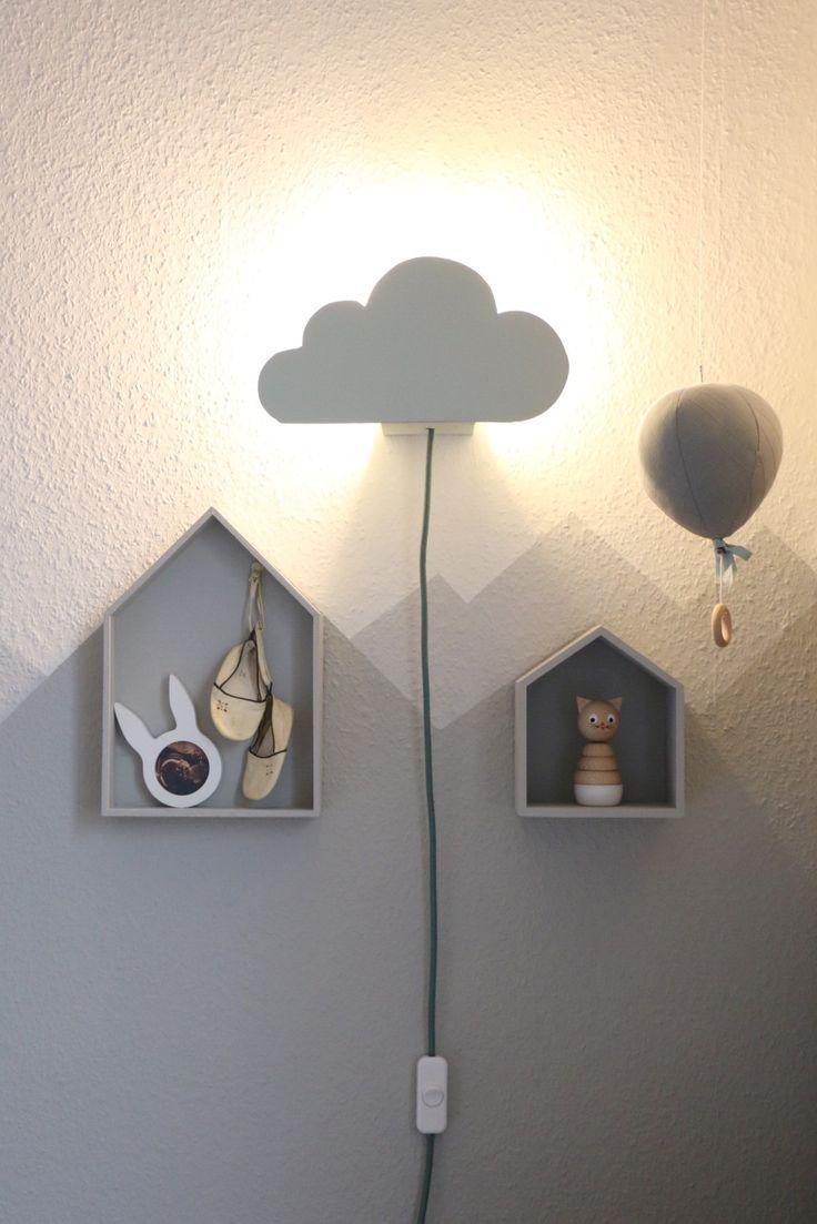 DIY Cloud Lamp – Wolkenleuchte für die Wickelecke   Lampe