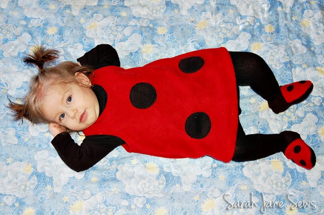 The Train To Crazy: DIY Ladybug #baby carrier diy #diy baby carrier #fashion baby carrier