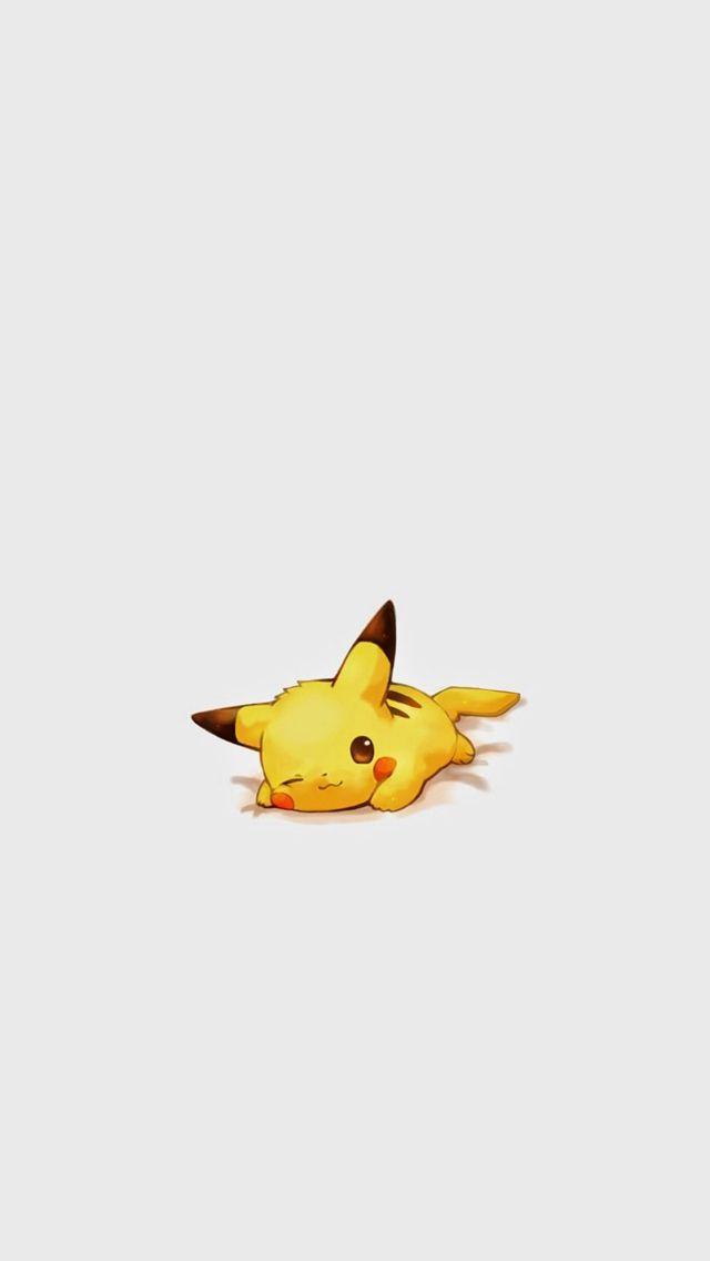 Cute Pikachu Pokemon Character  #iPhone #5s #wallpaper