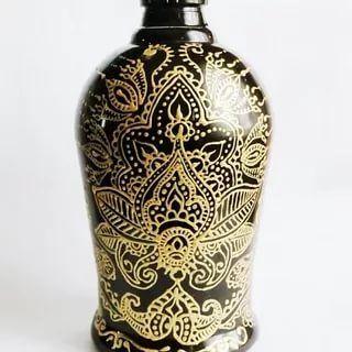 точечная роспись бутылок: 14 тыс изображений найдено в Яндекс.Картинках