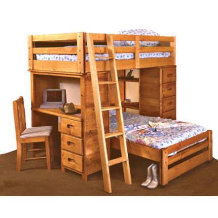 Shop For The Trendwood Bunkhouse Twin/Twin Bronco Loft Bed At Conlinu0027s  Furniture   Your Montana, North Dakota, South Dakota, Minnesota, ...