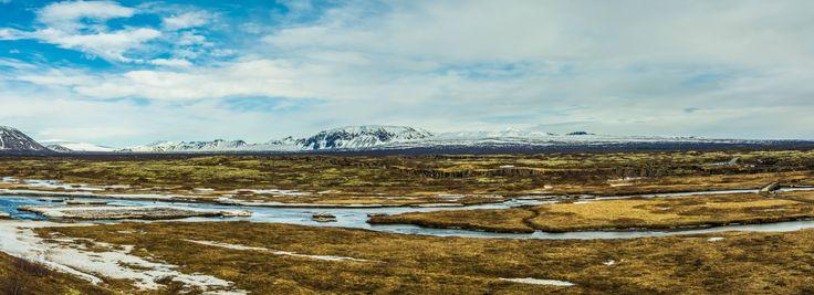Game Of Thrones Beyond The Wall Þingvellir National Park Iceland [OC] [9309x3380]