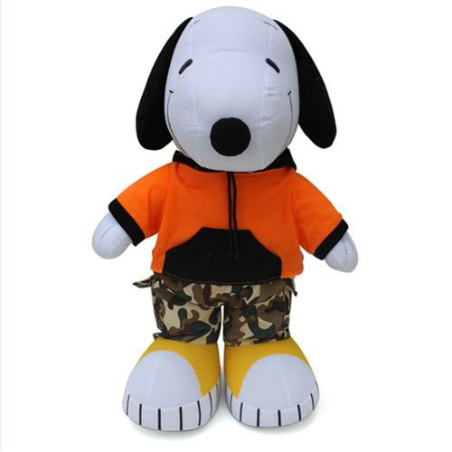 Stuffed Plush Toy Snoopy Wearing Camouflage Clothing Two Colorsat EVToys.com