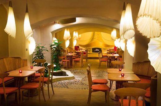 Restaurante vegetariano en Praga: Maitrea.
