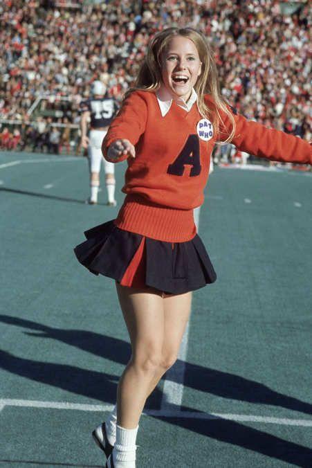 Auburn cheerleader 1971