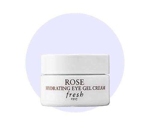 THE BEAUTY CLUB natural skincare rose hydrating eye gel cream by Fresh