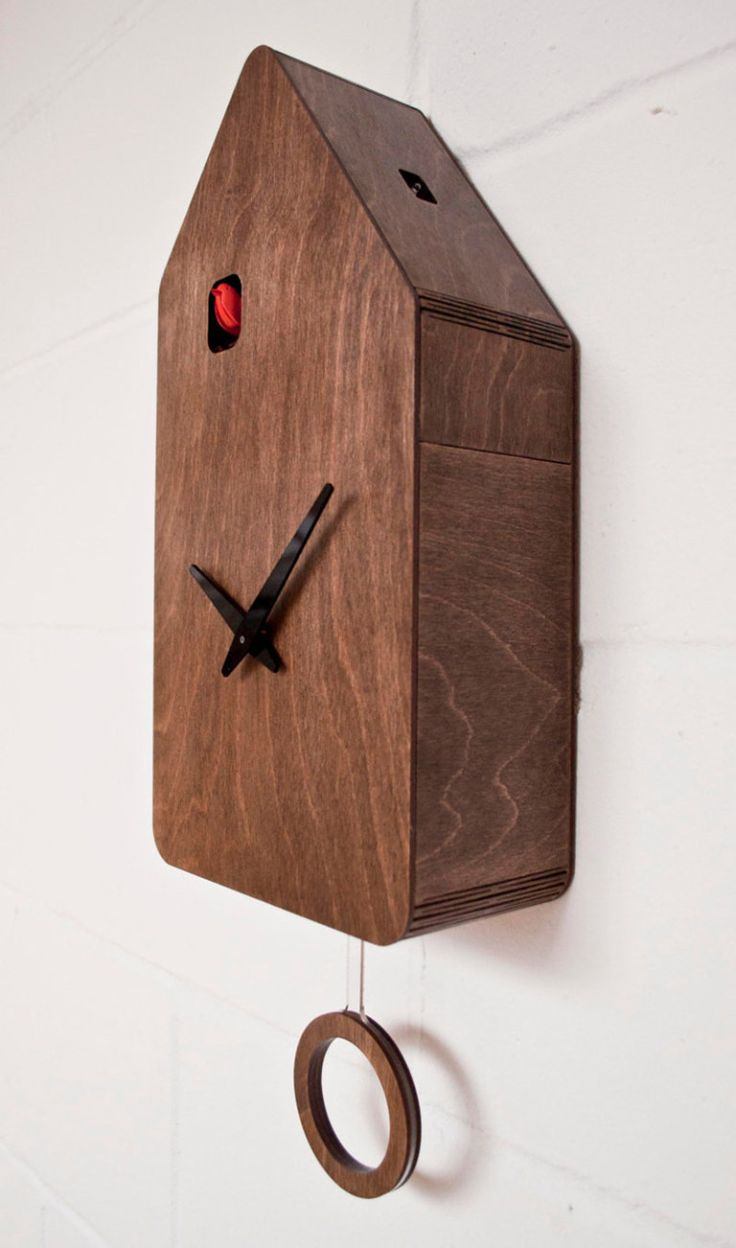 Modern Cuckoo Clock by Pedro Mealha