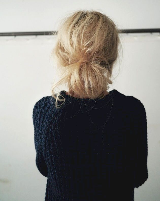 Hair Inspiration: The Low Messy Bun (via Bloglovin.com )