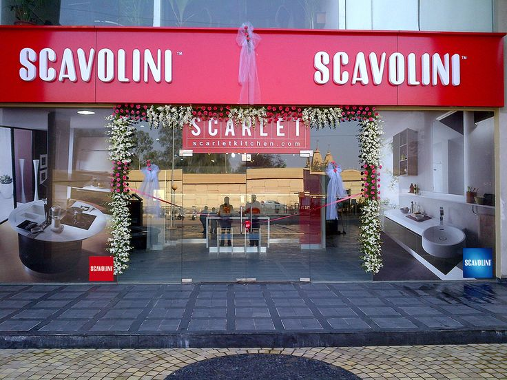 """Scavolini Store in Ahmedabad was inaugurated on Sunday 17th February 2013.  The biggest Scavolini mono-brand showroom in India boasts a 330sqm display area where some of the best-selling Scavolini products are now showcased. The showroom surface is completed by a """"Liberamente #living room"""" composition and by the first Scavolini #bathrooms display in India including Aquo, Idro, Rivo and Font compositions. #Scavolini #kitchen #living #bathroom  #Ahmedabad"""