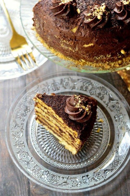 Fűszeres csokoládétorta recept