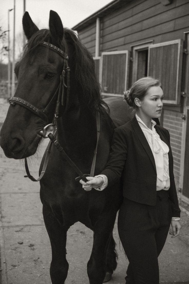 Photo: Edgar Wetzel #paardenmeisje #Jasmine