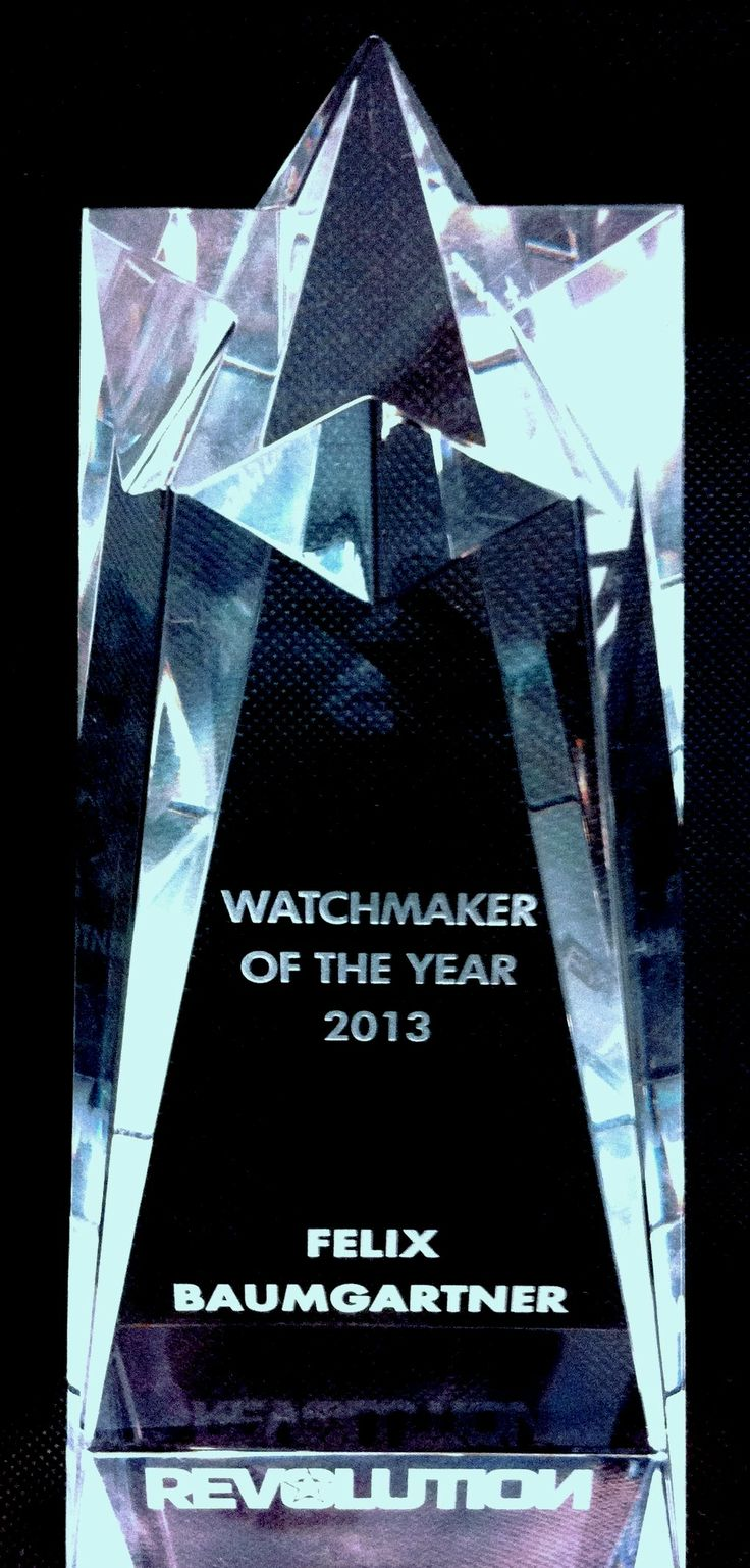 Watchmaker of the Year 2013 - Revolution