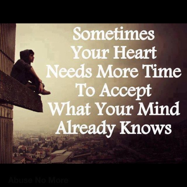Which leads to making decisions that should have been made years ago... But timing is an incredibly impeccable thing!