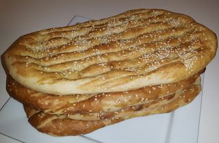 Creative Home Cooking With Ibty: Naan Barbari
