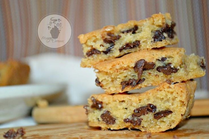 Blondies: los brownies rubios