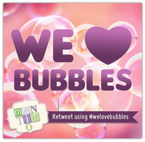 Share the bubbles. #WeLoveBubbles