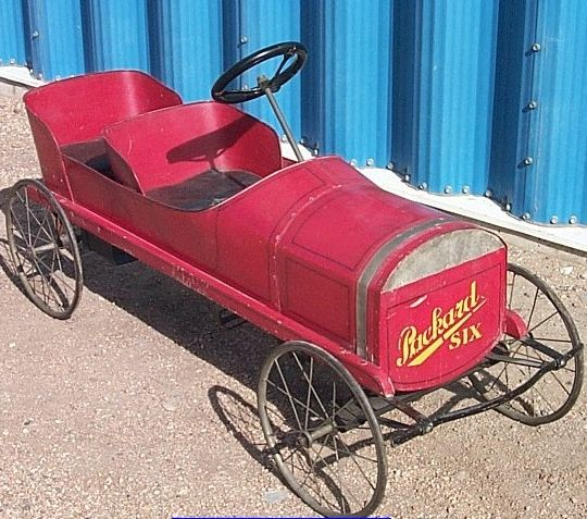 1915 1916 packard two seater pedal car