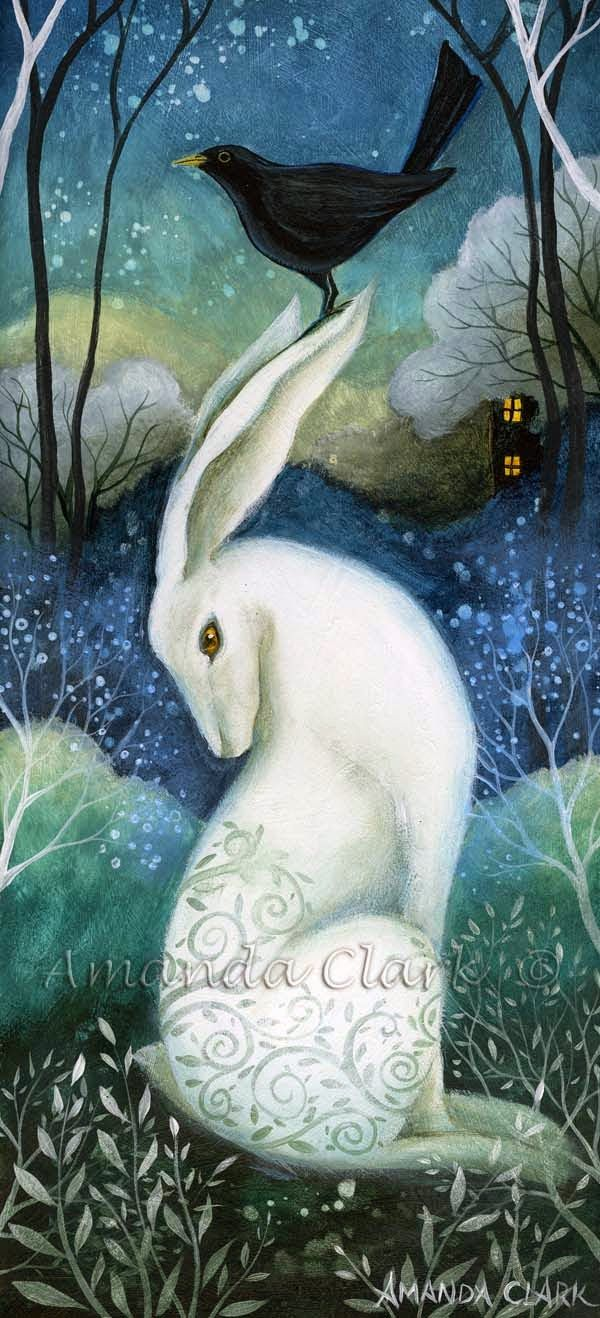 Earth Angels Art. Art and Illustrations by Amanda Clark