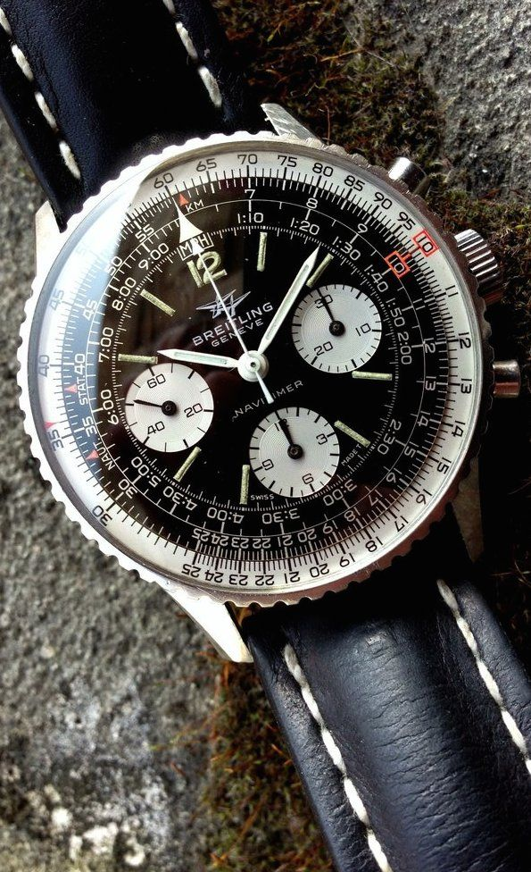 MONOCHROME: Introducing the Breitling Navitimer 01 in 46mm and Navitimer 1461 in 48mm (LIVE photos & pricing)---he Navitimer is Breitling's most emblematic watch. Presented in 1952 with the reference 806 as the ultimate pilot chronograph, equipped with a very useful slide rule...But the 43mm of the actual models are quite average now and an update was needed, just to keep the spirit of the original one: a massive 46mm or 48mm tool-watch to wear over your flight jacket.