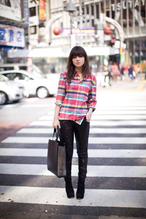 Dans les rues de Tokyo