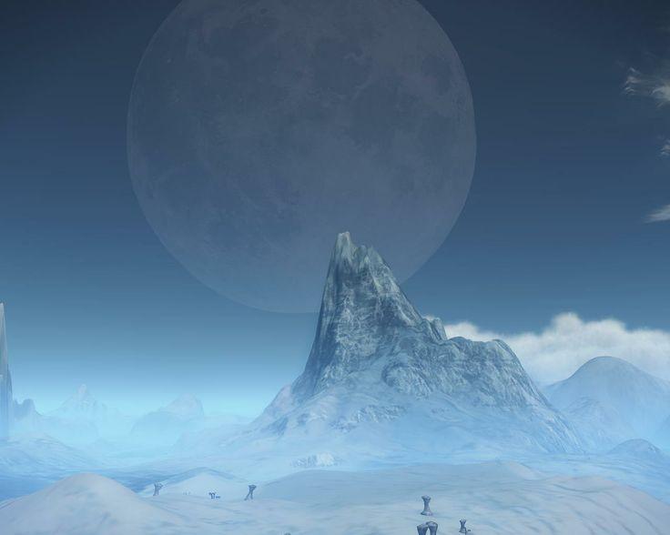 Nice shot of a moon