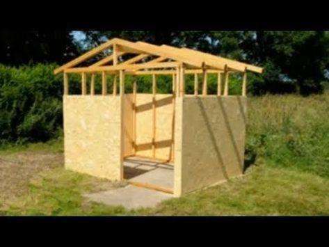 Holzhütte selber bauen mit meineHolzhütte.de Holzhütte