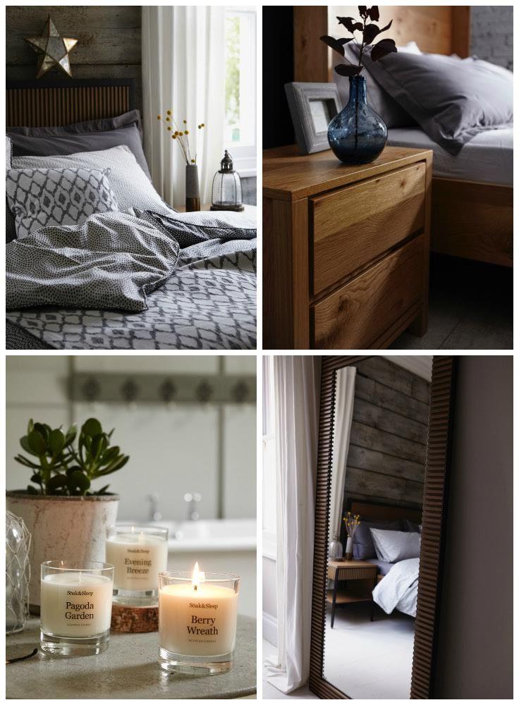 Sumptuous bedroom indulgence