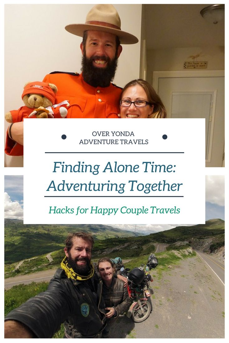 Finding your alone time on the #road is important. #traveltips to keep your #relationship in top shape whilst you #travel