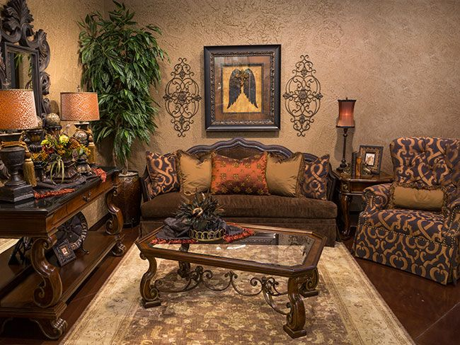 1521 best Tuscan Style Decor images on Pinterest Tuscan style - tuscan style living room