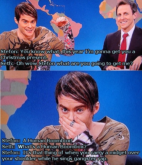stefon snl bill crack up