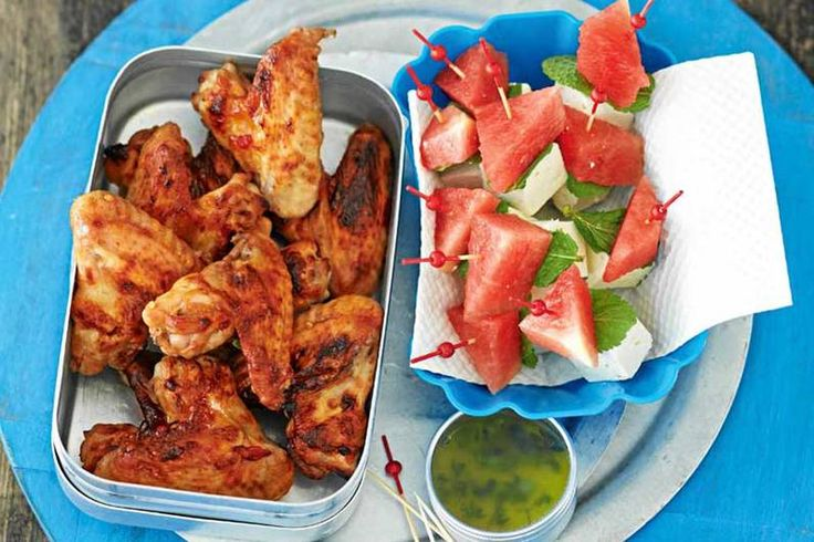 Pikant marinierte Chicken Wings