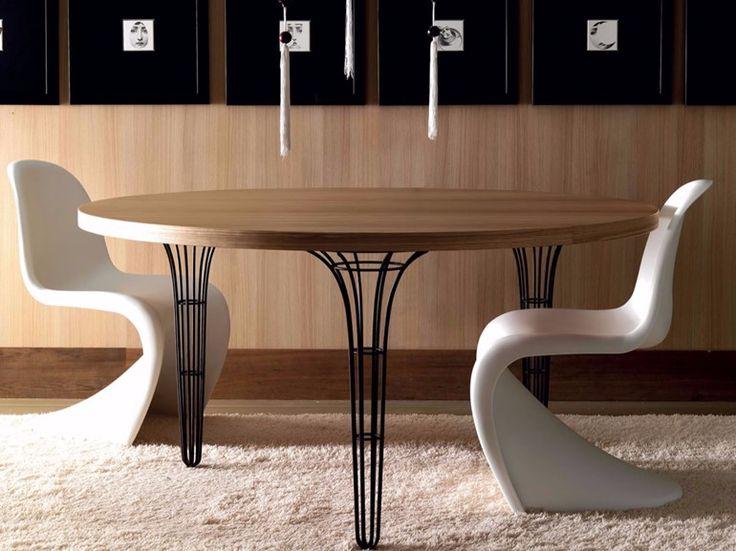Mesa redonda de madera ARTÙ   Mesa redonda - Esedra by Prospettive