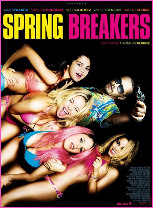 """Spring Breakers"" Movie Trailer Starring Vanessa Hudgens, Selena Gomez, Ashley Benson And Rachel Korine"