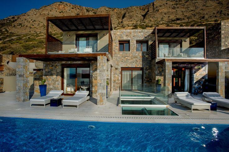 Elounda Island View hotel at Crete, Greece