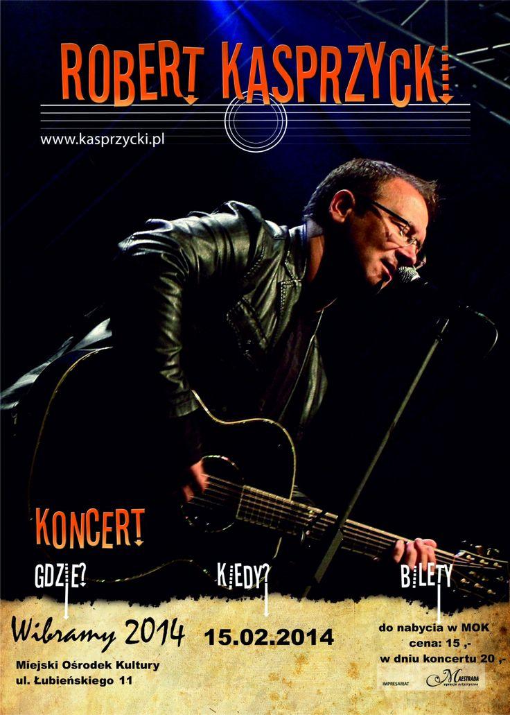 Robert Kasprzycki in Gniezno / Koncert Roberta Kasprzyckiego w Gnieźnie!