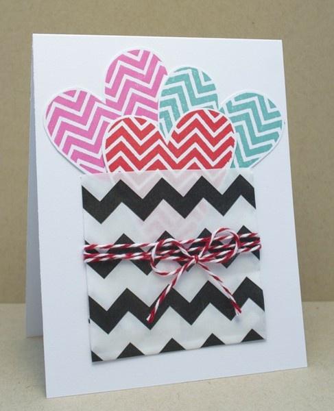 love the hearts and chevron: Valentines, Chevron Heart, Valentine Cards, Card Ideas, Cards Diy, Craft Ideas, Card Inspiration, Crafty Ideas, Cards Scrapping