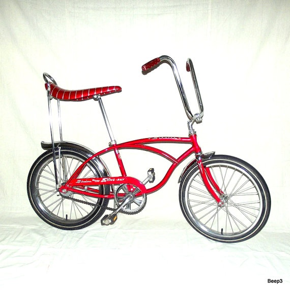 Vintage 1971 Schwinn Stingray De Luxe Bicycle by beep3 on Etsy, 675.00