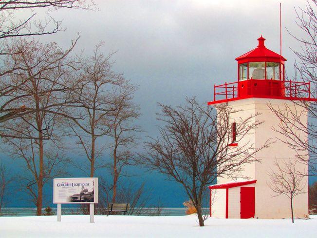 Goderich Lighthouse #Goderich #RediscoverGoderich
