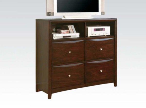 Acme Furniture - Manhattan TV Console in Espresso - 07411V